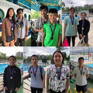 恭喜本會泳員在香港業餘游泳總會舉辦,第三組第一節分齡游泳賽. 獲得獎項.