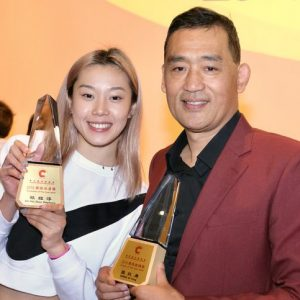 恭賀本會張狄勇教練榮獲2019最佳教練獎及歐鎧淳榮獲2019最佳泳員