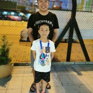 恭喜本會泳員在沙田區小學學界取得佳績