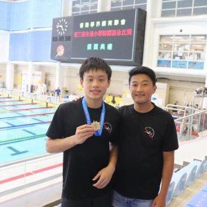 恭喜本會泳員於全港小學學界比賽又有好成績