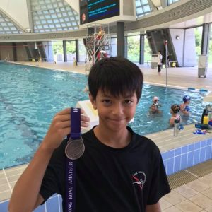 Congratulationsto our swimmer Axel. He did a Good Job at D3 LC Part2B.