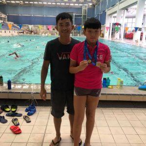 恭喜本會泳員在第三屆全港小學區際游泳比賽獲得獎項