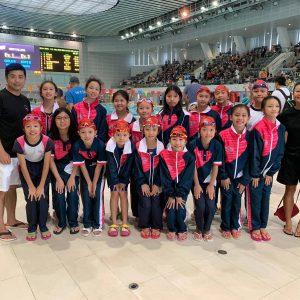 恭喜本會泳員代表嘉諾撒聖心小學出戰港島西區小學校際游泳比賽獲得佳績