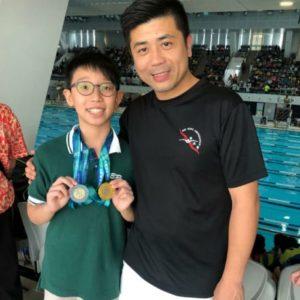 恭喜本會泳員鍾顯揚於港島西區小學校際游泳比賽獲得佳績