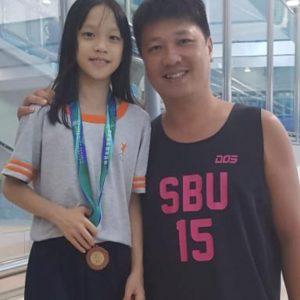 恭賀本會泳員黃子晴在東區小學學界水運會榮獲丙組50米自由泳季軍