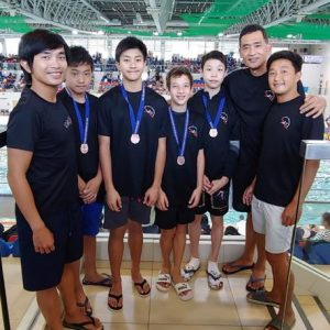 Our swimmer Marcel Hofstede has won the second runner up of Boys 12 & under 4x50M medley relay at the HKASA Age Group Championship