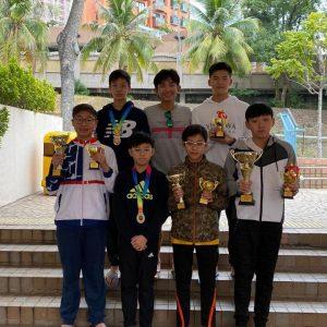 恭喜本會海賽小隊在香港冬泳總會舉辦2019香港公開冬泳錦標賽取得佳績