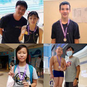 恭賀本會泳員在香港業餘游泳總會舉辦的第三組長池分齡游泳比賽(第二節乙部)取得佳績。