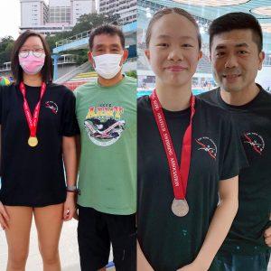 恭賀本會泳員在香港業餘游泳總會舉辦的第一組長池分齡游泳比賽(第三節)取得佳績。