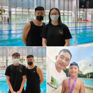 恭賀本會泳員在中國香港游泳總會舉辦的第三組長池分齡游泳比賽(第二節甲部)取得佳績。
