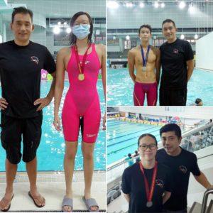 恭賀本會泳員在中國香港游泳總會舉辦的二零二一年香港公開游泳錦標賽取得佳績。