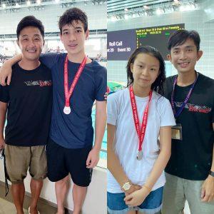 恭賀本會泳員在中國香港游泳總會舉辦的第一組短池分齡游泳比賽(第二節)取得佳績。